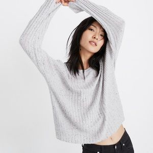 MADEWELL relaxed crew neck sweater